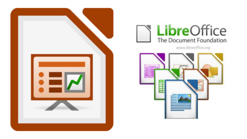 Logo de Libre Office Impress