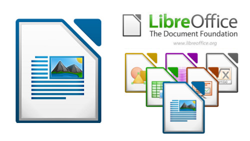 Logo de Libre office writer