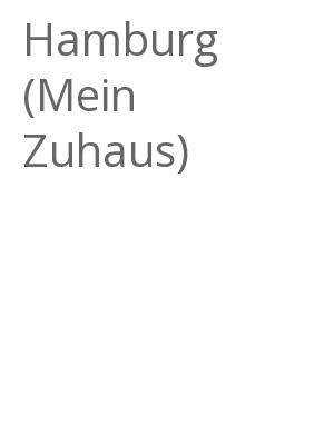 """Afficher """"Hamburg (Mein Zuhaus)"""""""