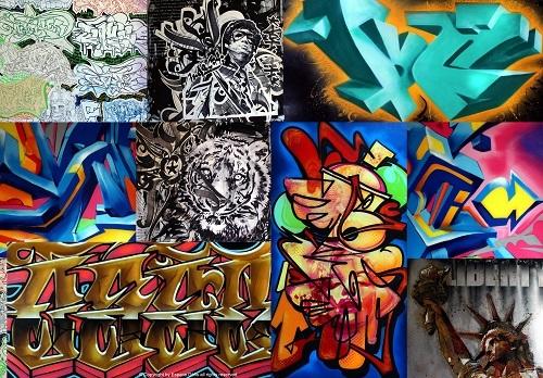 "Afficher ""Graffiti et cultures urbaines"""
