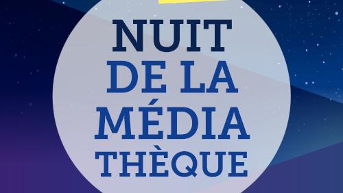 """Afficher """"Nuit de la Médiathèque 2020 (Moulins)"""""""