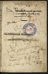 """Afficher """"Consolatio theologiae"""""""