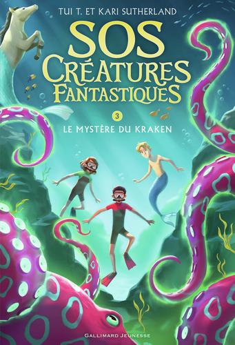 """Afficher """"SOS Créatures fantastiques (Tome 3) - Le Mystère du kraken"""""""
