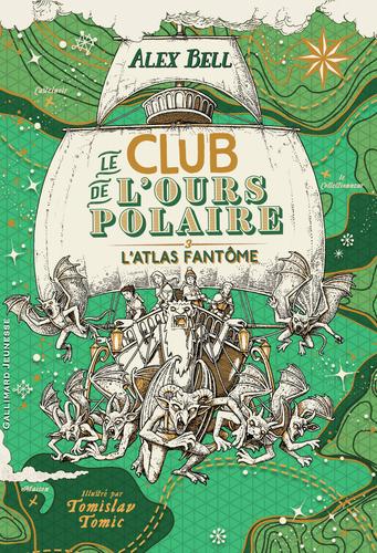 """Afficher """"Le club de l'ours polaire (Tome 3) - L'atlas fantôme"""""""