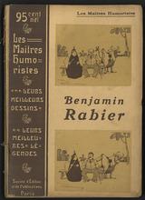 """Afficher """"Les maitres humoristes, les meilleures dessins, les meilleures légendes : Benjamin Rabier"""""""