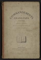 """Afficher """"Les commandements du grand-papa et ses défenses"""""""