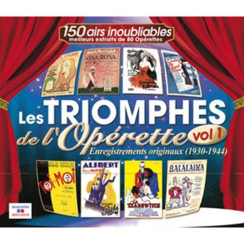 """Afficher """"Les triomphes de l'opérette, Vol. 1 (1930-1944)"""""""