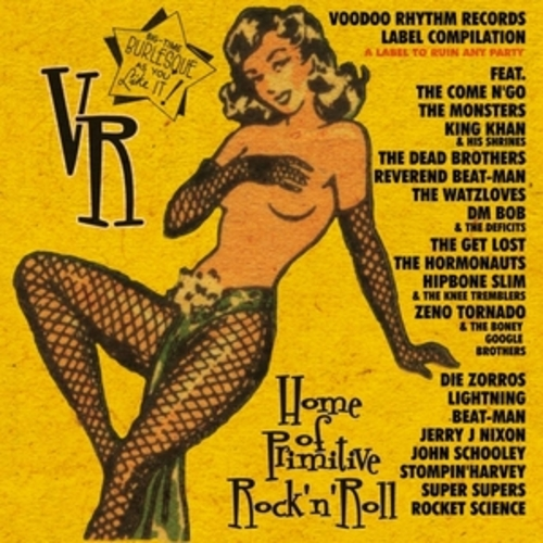 """Afficher """"Voodoo Rhythm Records: Records to Ruin Any Party, Vol. 1"""""""