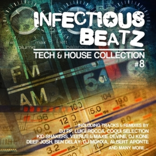 """Afficher """"Infectious Beatz, Vol. 8"""""""