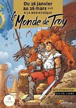 Affiche expo Monde de Troy